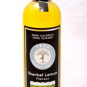 TRKG Skinny Shots Sherbert Lemon Bottle Front view