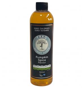 TRKG Skinny Shots Pumpkin Spice front of bottle