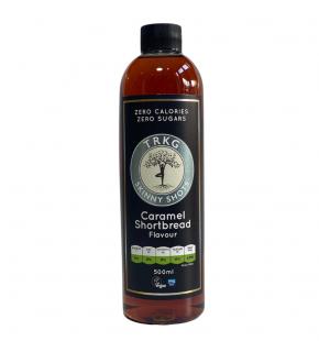 TRKG Skinny Shots Caramel Shortbread front of bottle