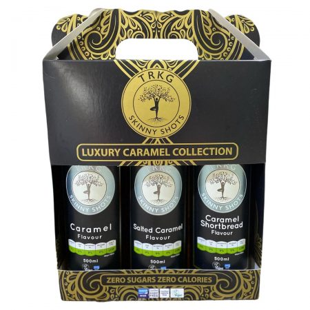 TRKG Luxury Caramel Collection in gift pack
