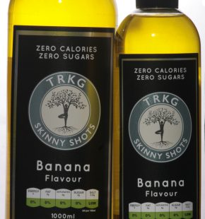 Banana Skinny Shot 500ml & 1000ml