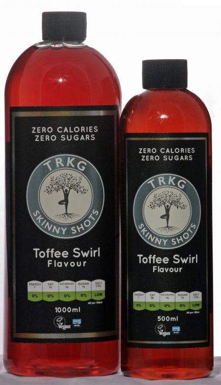 Toffee Swirl Skinny Shots 500 & 1000ml